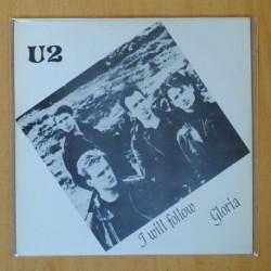 U2 - I WILL FOLLOW / GLORIA - SINGLE