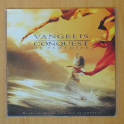 VANGELIS - CONQUEST OF PARADISE / MOXICA AND THE HORSE - SINGLE