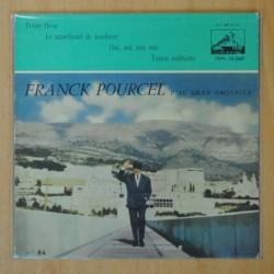 FRANCK POURCEL Y SU GRAN ORQUESTA - PETITE FLEUR + 3 - EP