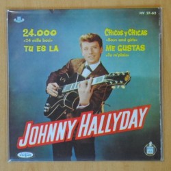 JOHNNY HALLYDAY - 24.000 + 3 - EP