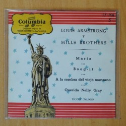 LOUIS ARMSTRONG Y MILLS BROTHERS - MARIA + 3 - EP