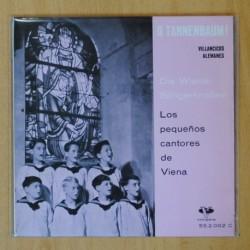 LOS PEQUEÑOS CANTORES DE VIENA - VILLANCICOS ALEMANES - EP