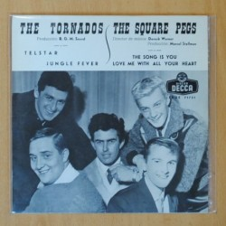 THE TORNADOS & THE SQUARE PEGS - TELSTAR + 3 - EP