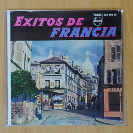 EXITOS DE FRANCIA Nº 1 - VARIOS - DARIO MORENO - QUE L´AMOUR ME PARDONNE + 3 - EP