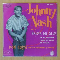JOHNNY NASH - RAICES DEL CIELO + 3 - EP