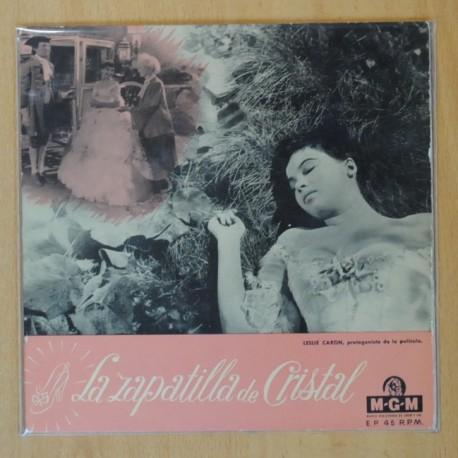 DAVID ROSE Y SU ORQUESTA - LA ZAPATILLA DE CRISTAL B.S.O. - TOMA MI AMOR + 3 - EP