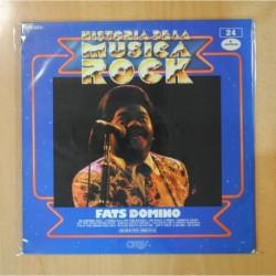 FATS DOMINO - HISTORIA DE LA MUSICA ROCK 24 - LP