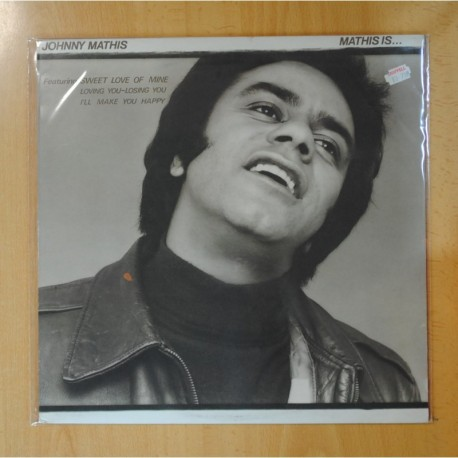 JOHNNY MATHIS - MATHIS IS... - LP