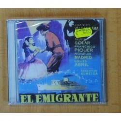 VARIOS - EL EMIGRANTE - CD