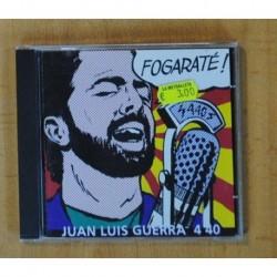 JUAN LUIS GUERRA 4 40 - FOGARATE - CD