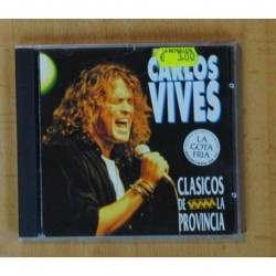 CARLOS VIVES - CLASICOS DE LA PROVINCIA - CD