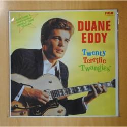 "DUANNE EDDY - TWENTY TERRIFIC "" TWANGIES "" - LP"