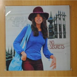 CARLY SIMON - NO SECRETS - LP