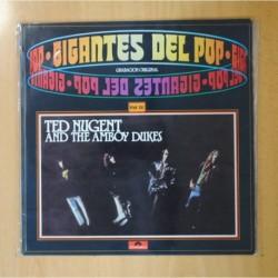 TED NUGENT AND THE AMBOY DUKES - GIGANTES DEL POP VOL 20 - LP