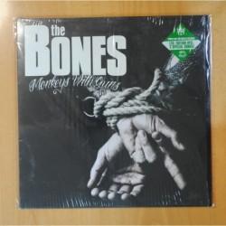 THE BONES - MONKEYS WITH GUNS - LP