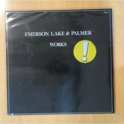 EMERSON LAKE & PALMER - WORKS - GATEFOLD - 2 LP