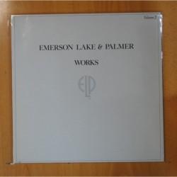 EMERSON LAKE & PALMER - WORKS - LP