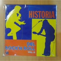 VARIOS - HISTORIA DEL ROCK N ROLL VOL. II - LP