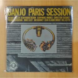 VARIOS - BANJO PARIS SESSION - GATEFOLD - 2 LP