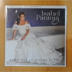 ISABEL PANTOJA - HASTA QUE SE APAGUE EL SOL + CD - PRECINTADO - 2 LP