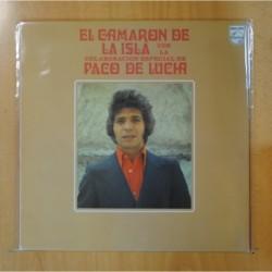 CAMARON DE LA ISLA / PACO DE LUCIA - EL CAMARON DE LA ISLA CON LA COLABORACION ESPECIAL DE PACO DE LUCIA - LP