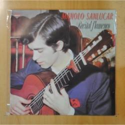 MANOLO SANLUCAR - RECITAL FLAMENCO - LP