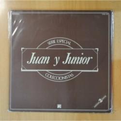 JUAN Y JUNIOR - SERIE ESPECIAL COLECCIONISTAS - GATEFOLD - 2 LP