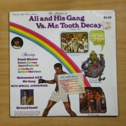 MUHAMMAD ALI & THE ALI GANG - THE ADVENTURES OF ALI AND HIS GANG VS MR TOOTH DECAY - LP