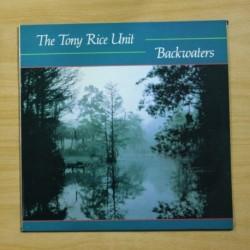 THE TONY RICE UNIT - BACKWATERS - LP