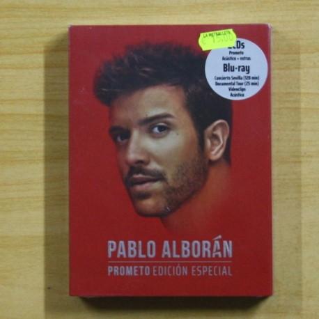 Pablo Alboran Prometo Edicion Especial Dvd Discos La Metralleta