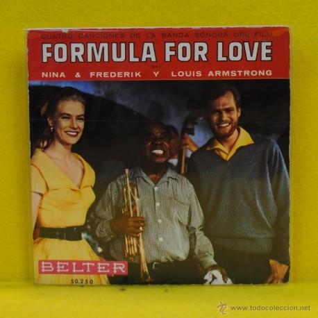 NINA / FREDERIK / LOUIS AMSTRONG - FORMULA FOR LOVE - SINGLE