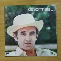 CHARLES AZNAVOUR - DESORMAIS - LP