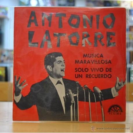 ANTONIO LA TORRE - MUSICA MARAVILLOSA - SINGLE