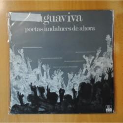 AGUAVIVA - POETAS ANDALUCES DE AHORA - GATEFOLD - LP