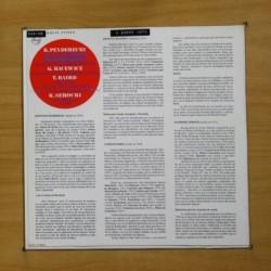 PRESUNTOS IMPLICADOS - SER DE AGUA - LP