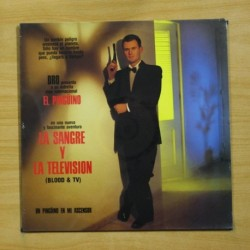 UN PINGUINO EN MI ASCENSOR - LA SANGRE Y LA TELEVISION - LP