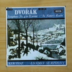 DVORAK - SYMPHONY N 4 - LP