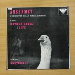 ANSERMET - L´ORCHESTRE DE LA SUISSE ROMANDE - LP
