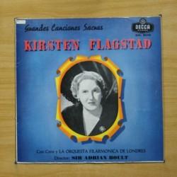 KIRSTEN FLAGSTAD - GRANDES CANCIONES SACRAS - LP