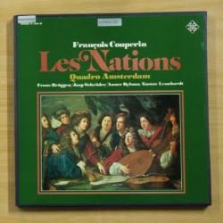 FRANCOIS COUPERIN - LES NATIONS - BOX 2 LP