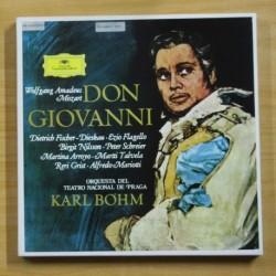MOZART / KARL BOHM - DON GIOVANNI - BOX 4 LP