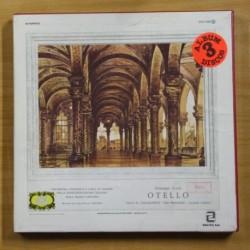 VERDI - OTELLO - BOX 3 LP
