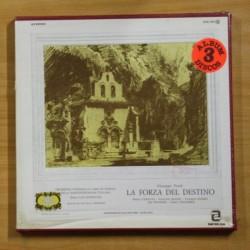 VERDI - LA FORZA DEL DESTINO - BOX 3 LP