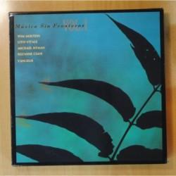 VARIOS - MUSICA SIN FRONTERAS VOL 1 - CONTIENE CD - BOX 2 LP
