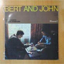 BERT JANSCH / JOHN RENBOURN - BERT AND JOHN - LP