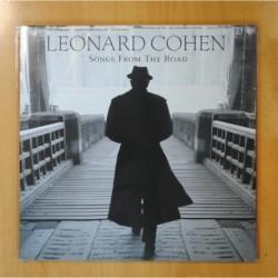 LEONARD COHEN - SONGS FROM THE ROAD - GATEFOLD - 2 LP