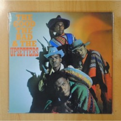 THE UPSETTERS - THE GOOD THE BAD & THE UPSETTERS - LP