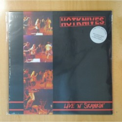 HOTKNIVES - LIVE N SKANKIN - LP