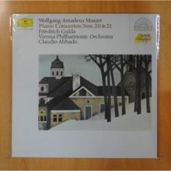 MOZART - PIANO CONCERTOS NOS 20 & 21 - LP