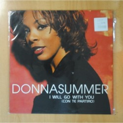 DONNA SUMMER - I WILL GO WITH YOU - MAXI